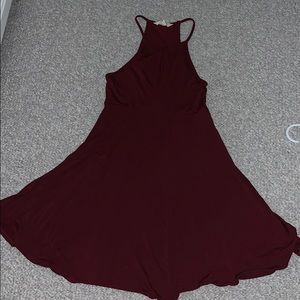 Burgundy American eagle soft and sexy collection